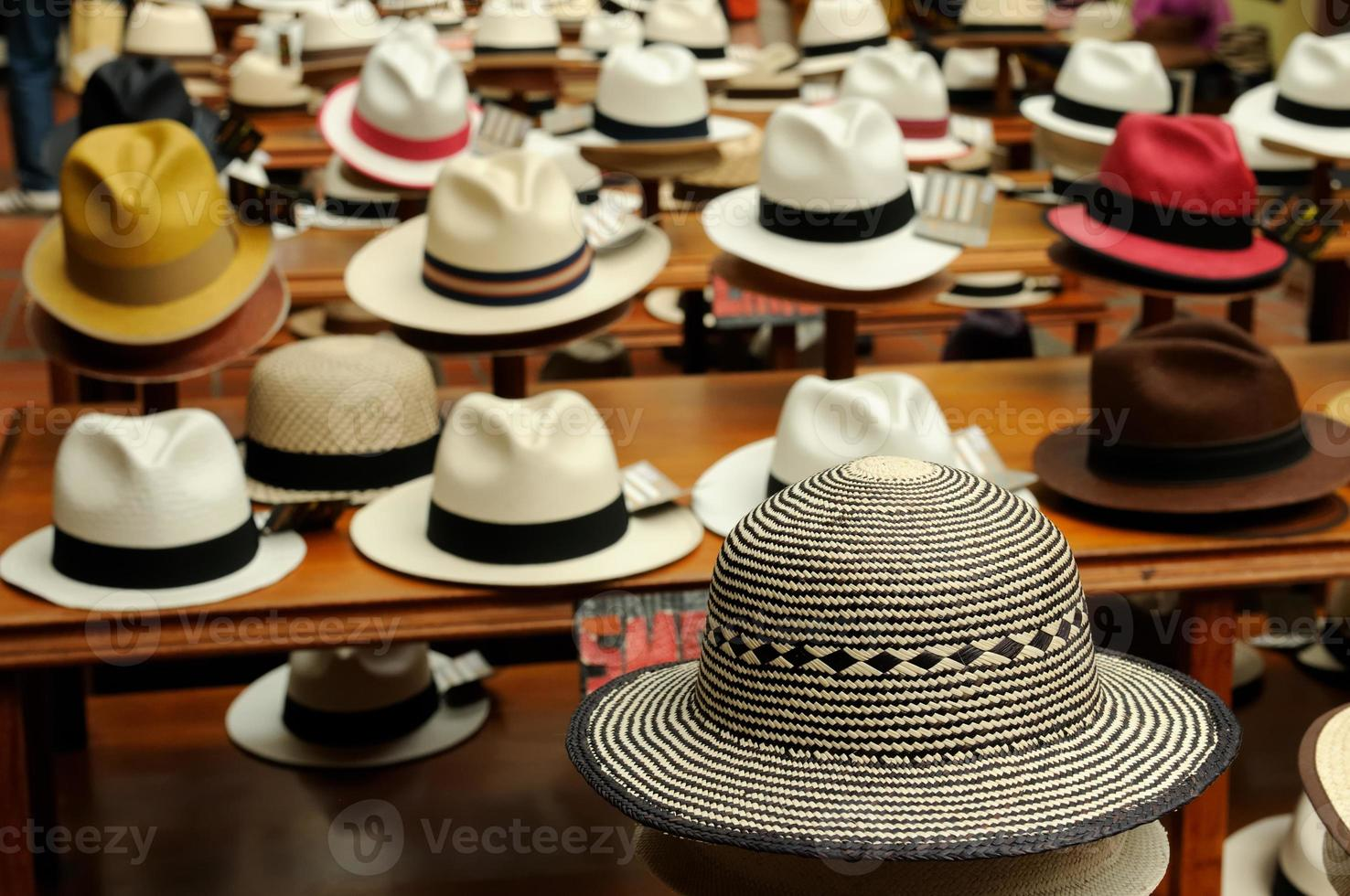 Ecuador, Panama hoeden foto
