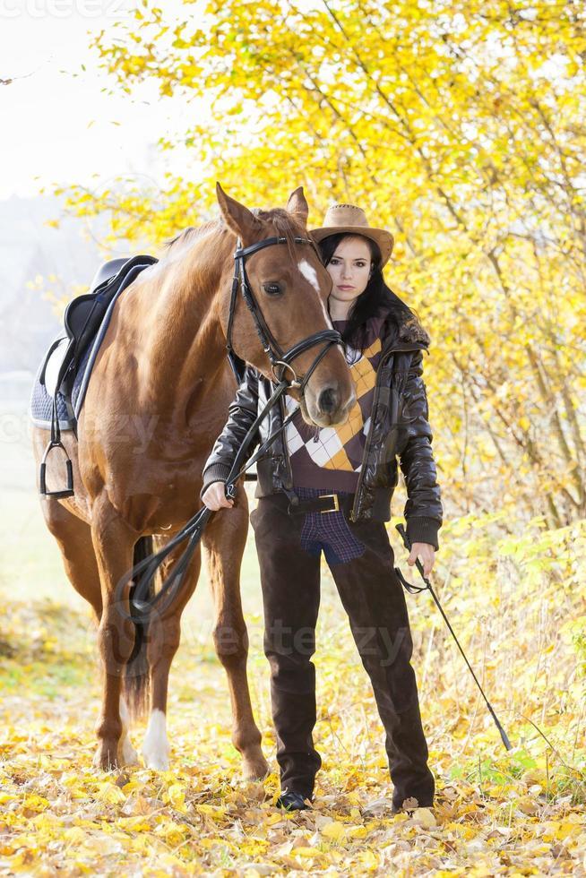 paardensport te paard foto