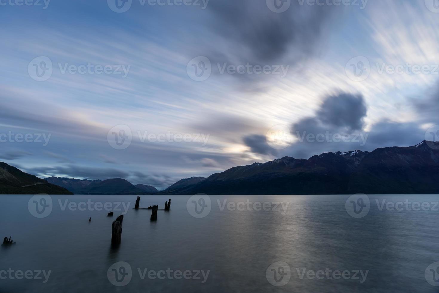 wolken strekken foto