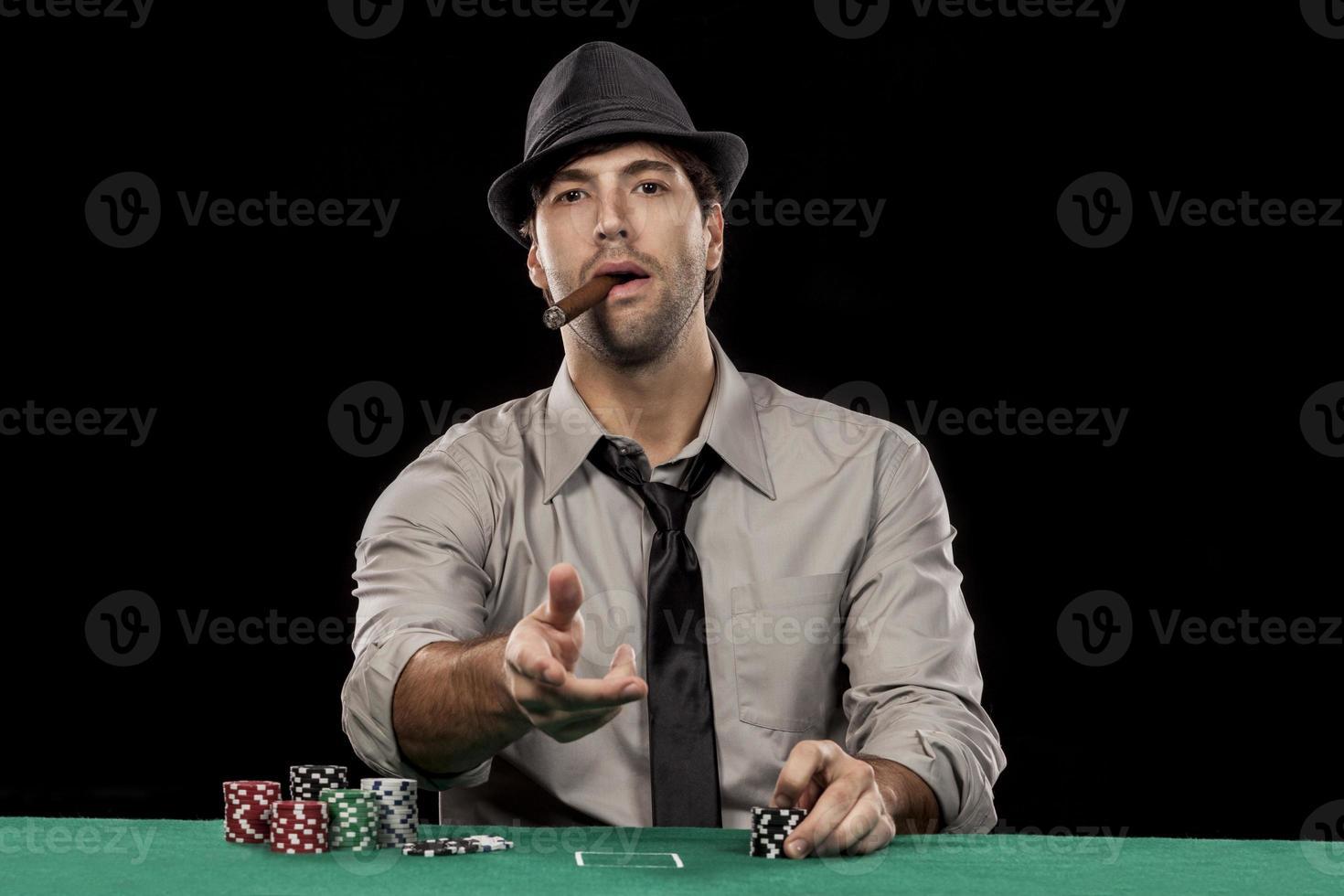 pokerspeler foto