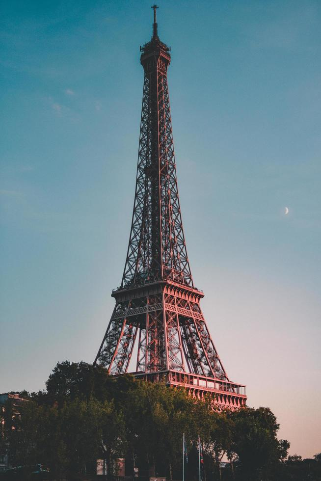 de Eiffeltoren in Parijs, Frankrijk foto