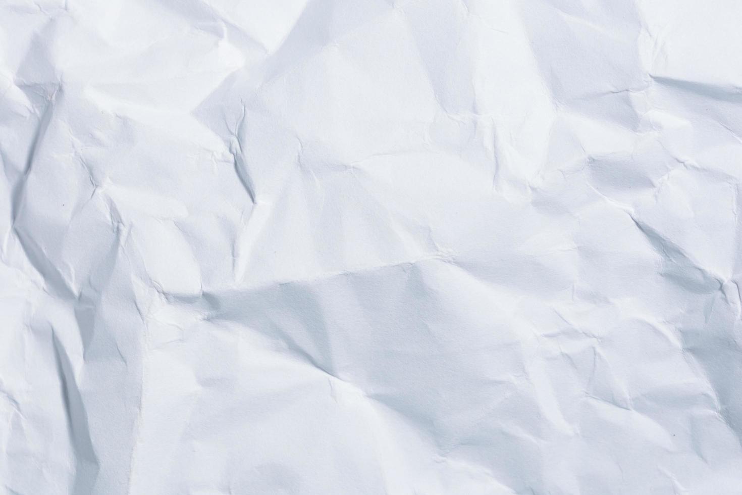 witte gekreukeld papier achtergrond foto