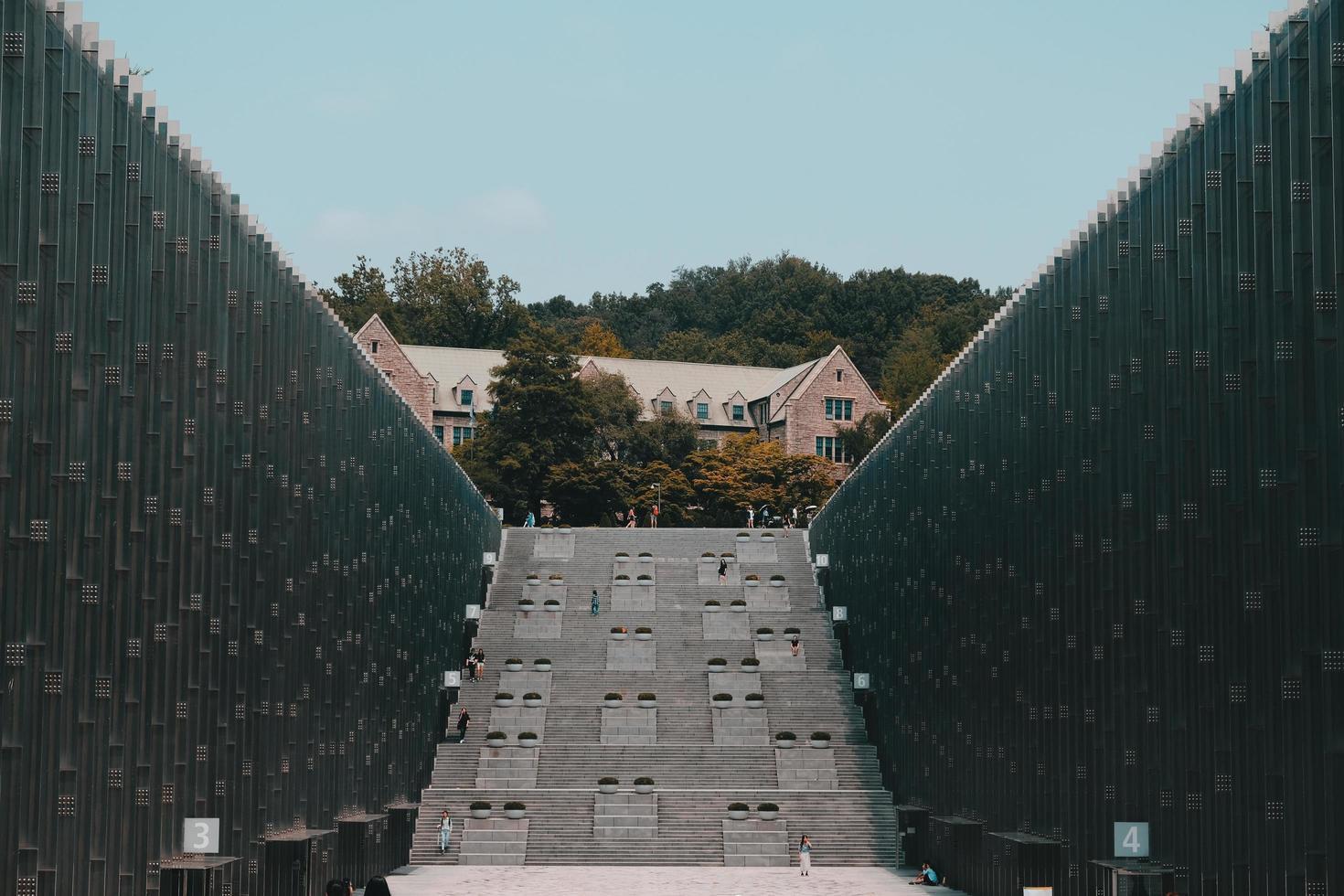 gebouwen van de ewha-universiteit foto