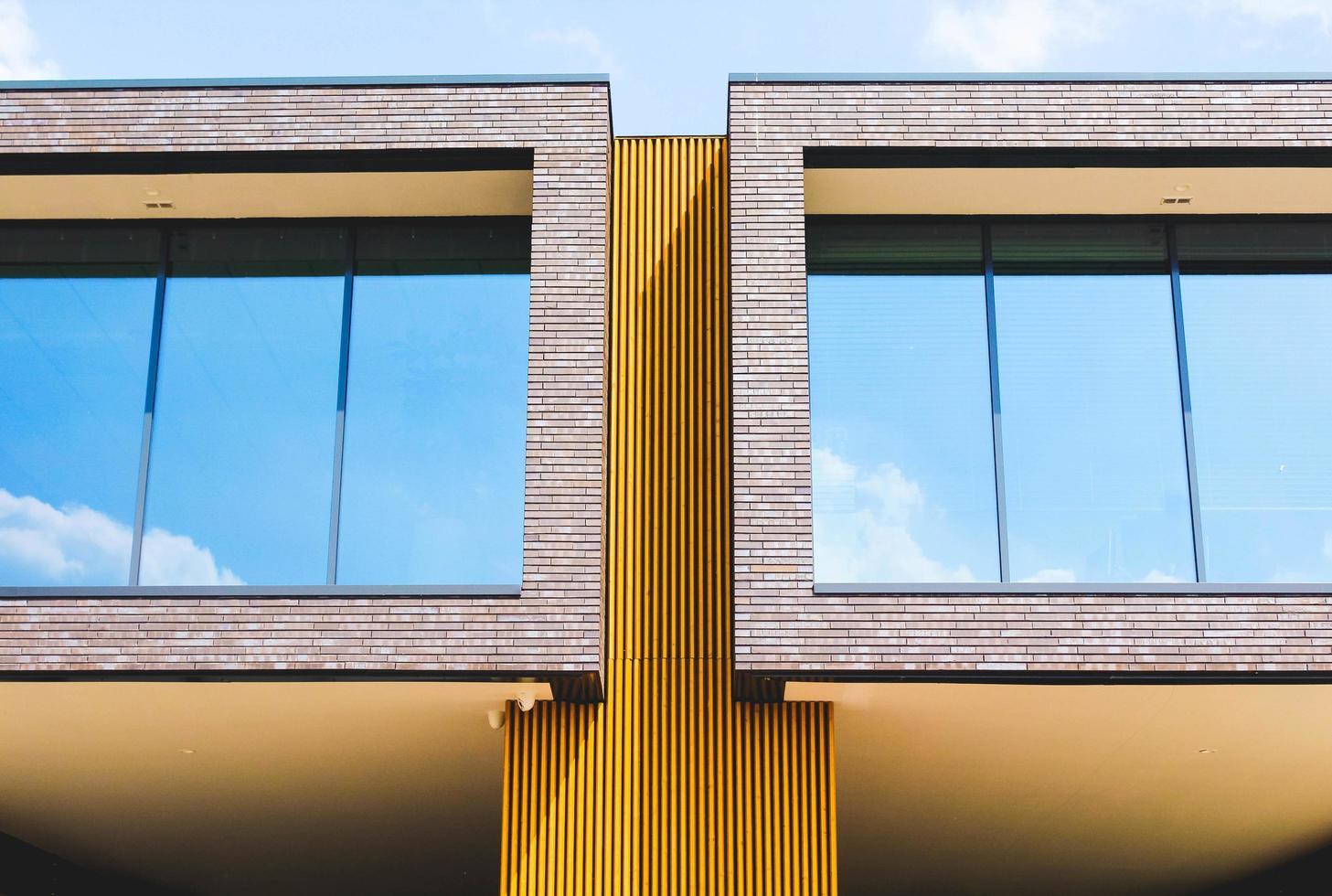 nederland, 2020 - modern geometrisch gebouw foto