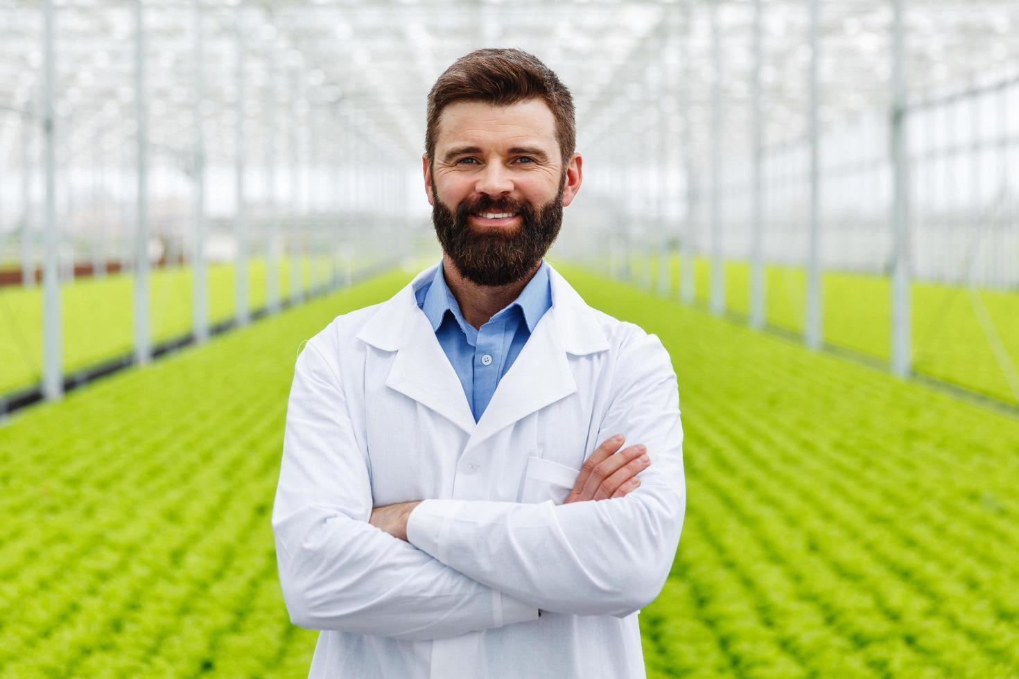 mannelijke wetenschappelijk onderzoeker foto
