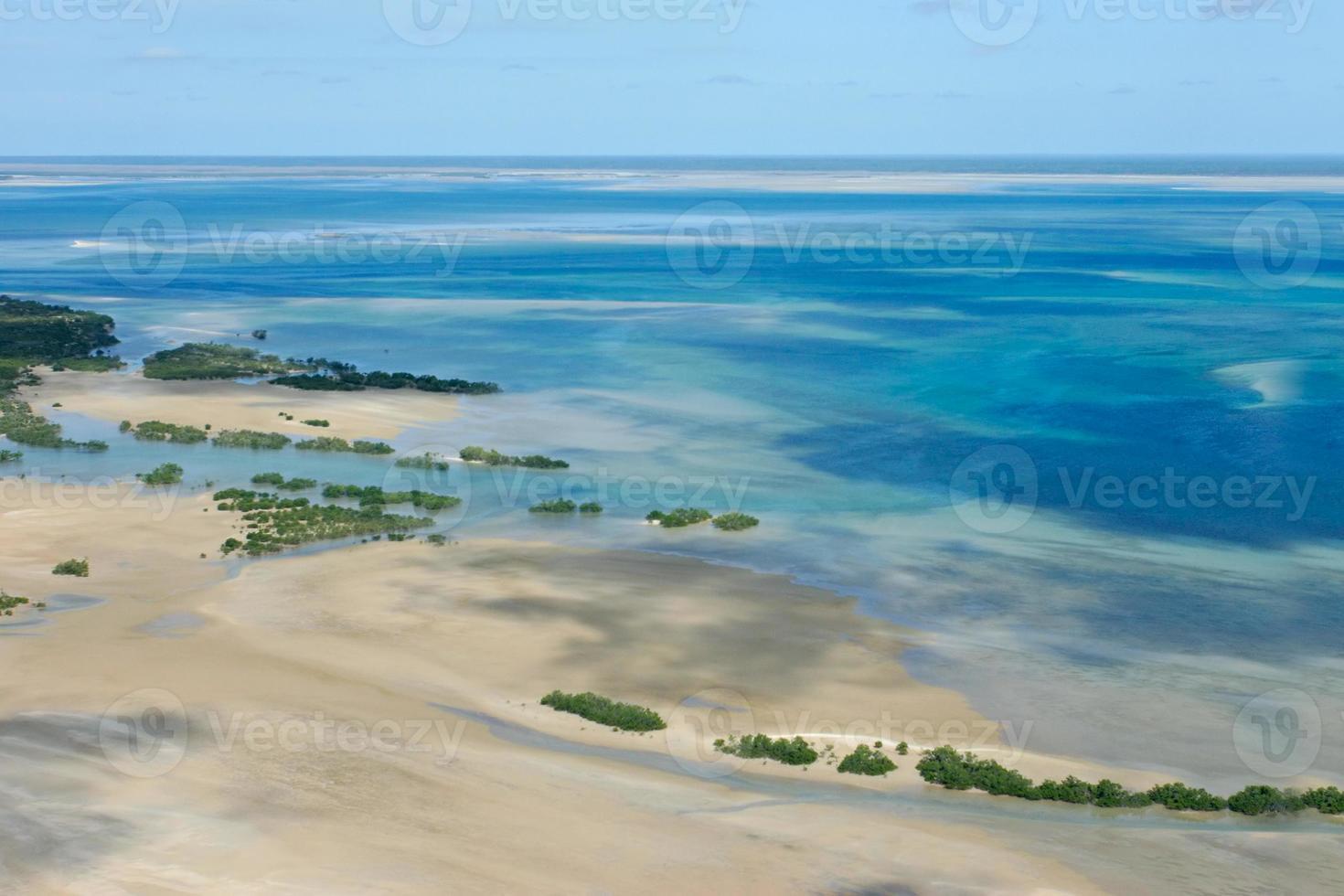 tropische kust foto