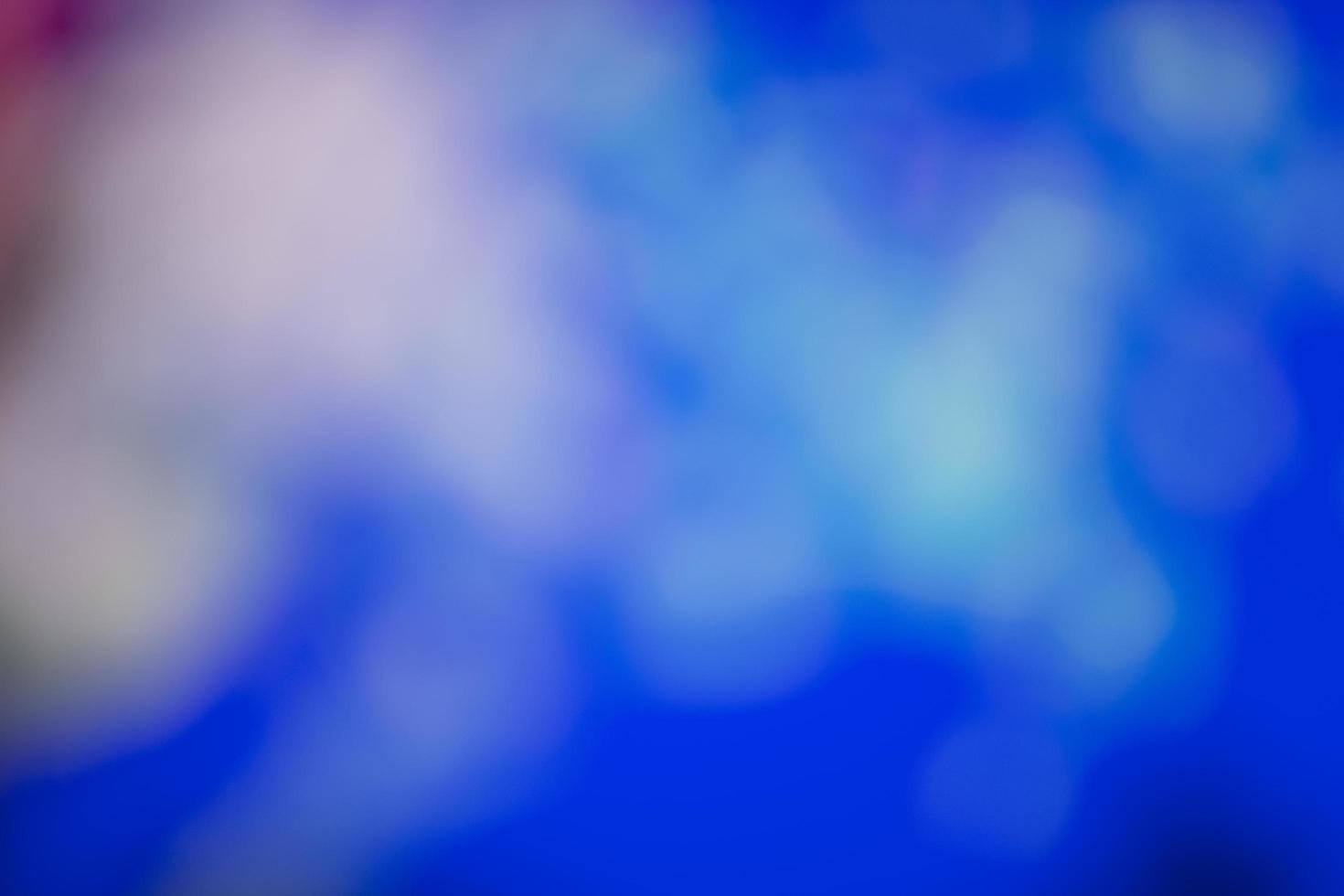 kleurrijke bokeh achtergrond foto