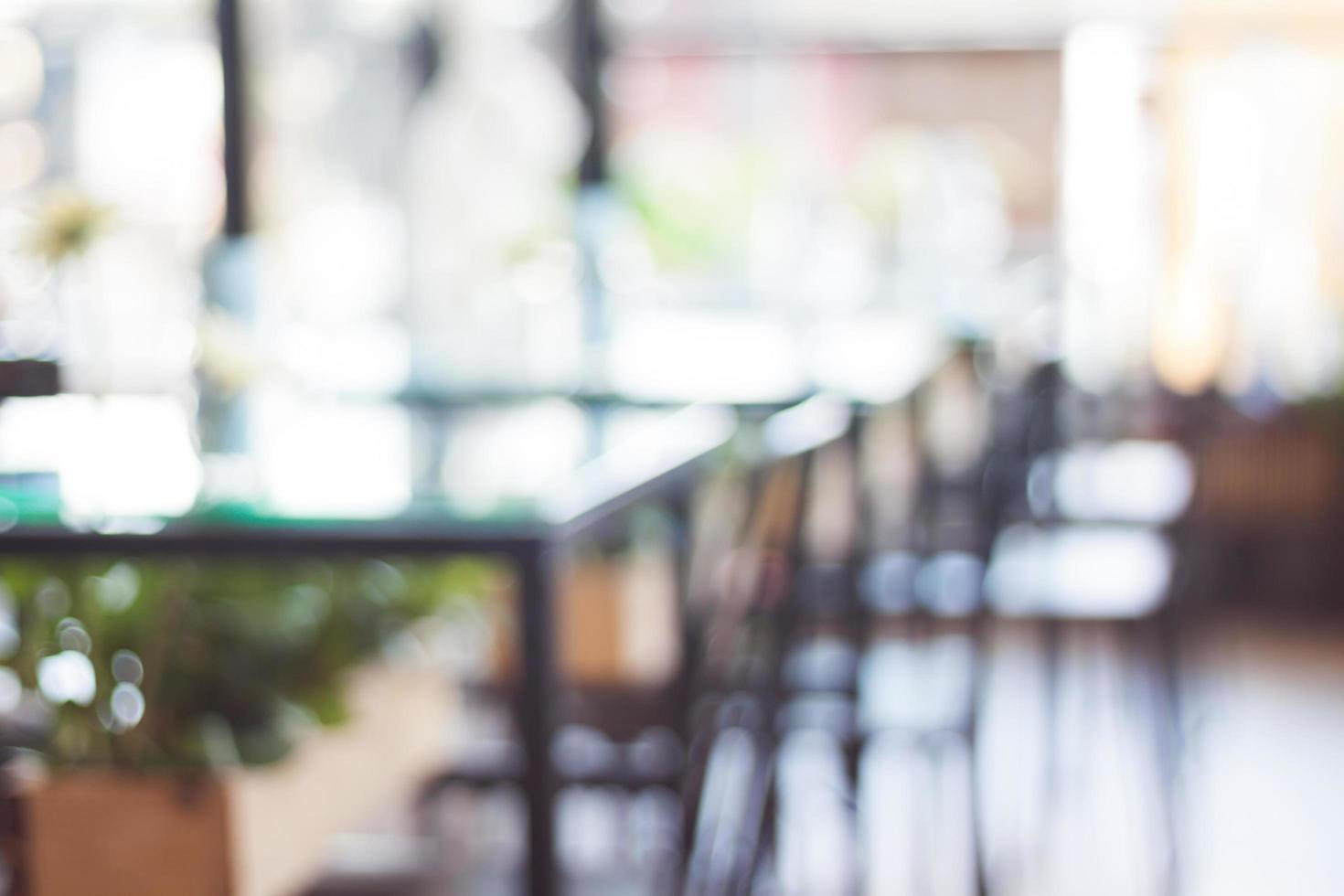 wazig coffeeshop achtergrond foto