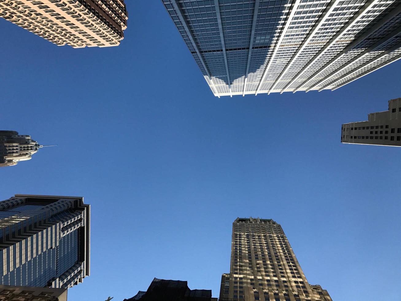 hoge gebouwen overdag foto