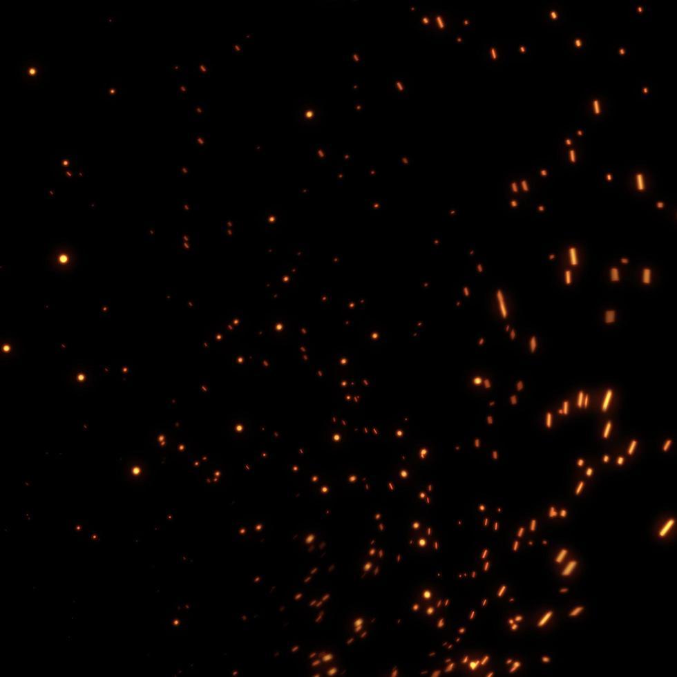 vuur ontwerp op zwarte achtergrond foto