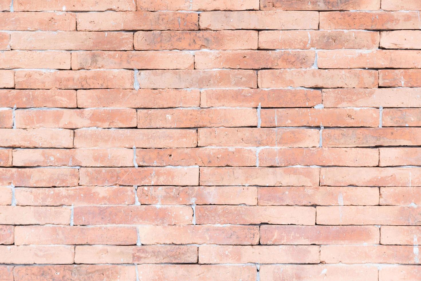 rode bakstenen muur achtergrond foto