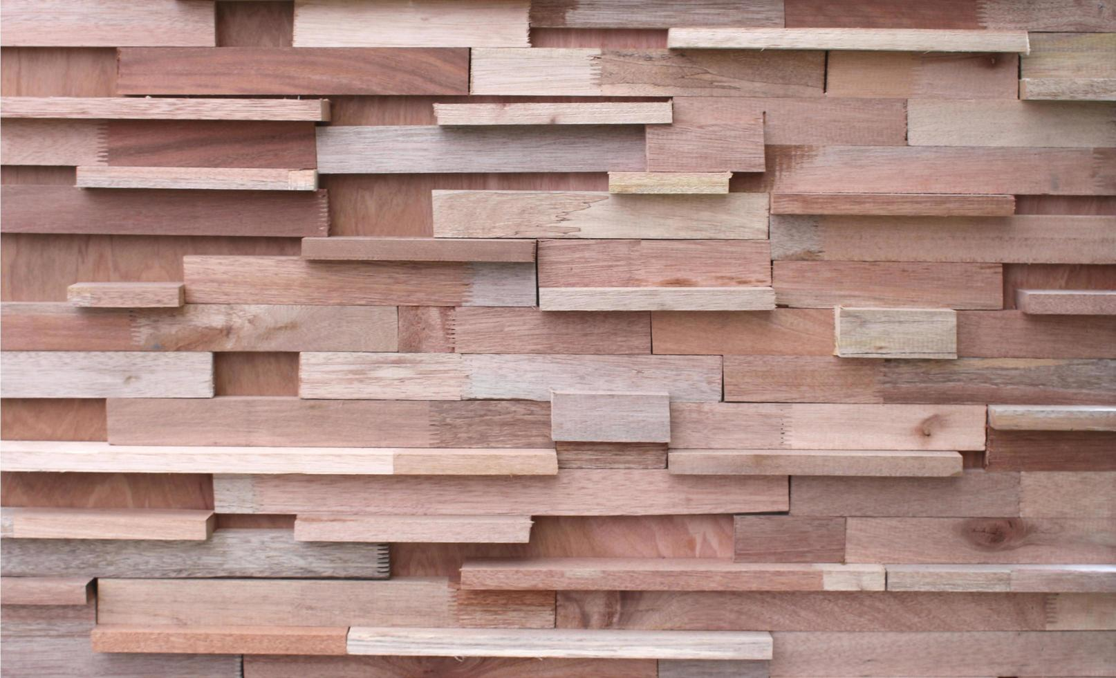 hout houten paneelmuur foto