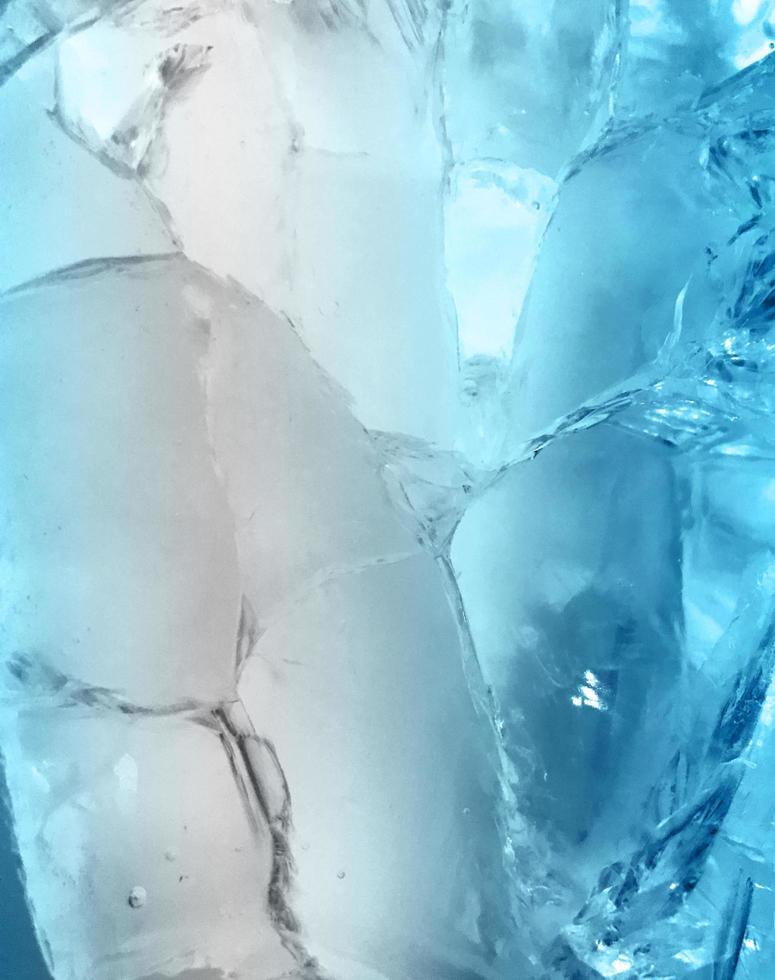 blauw ijs abstract foto