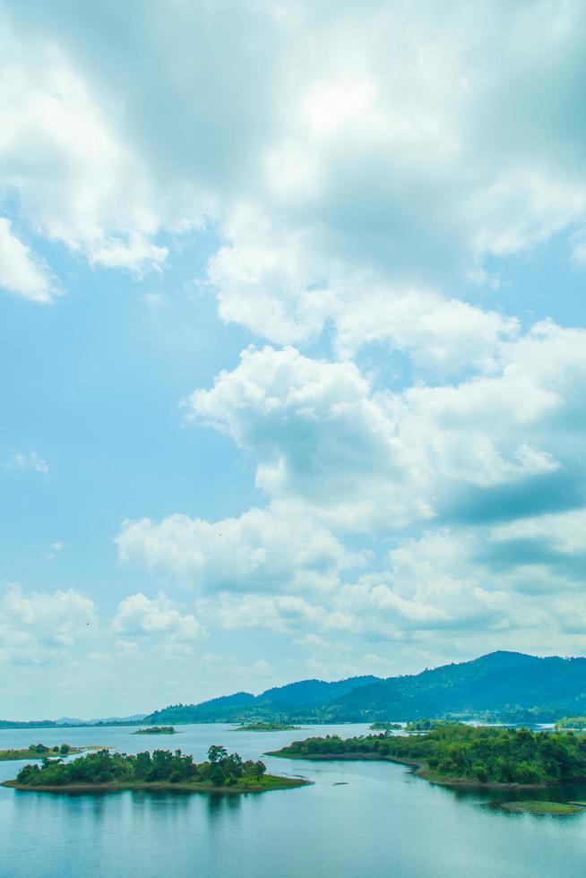 landschap in Thailand foto