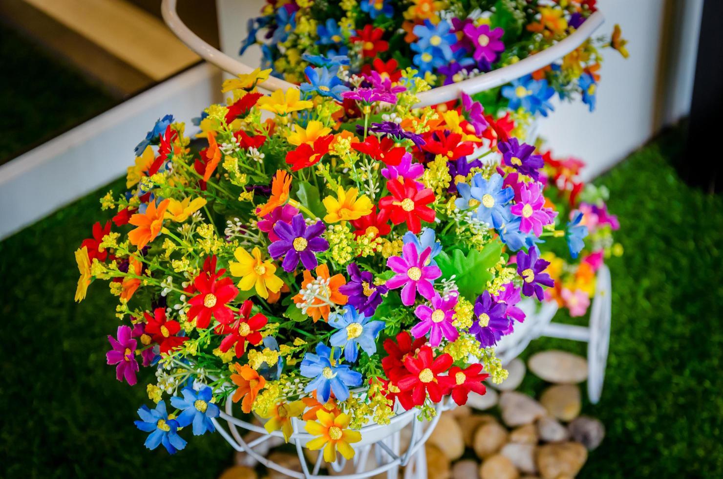 kleurrijke Lentebloemen foto