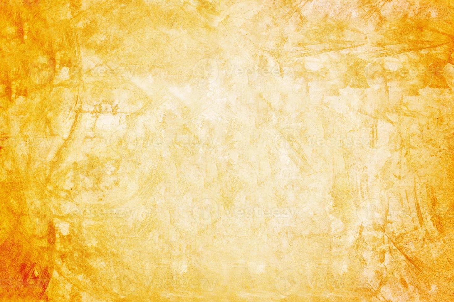 oranje muur en showroomachtergrond voor presentatieproduct foto