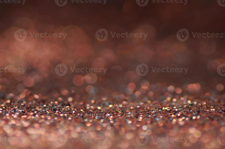 defocus van glitter licht achtergrond foto