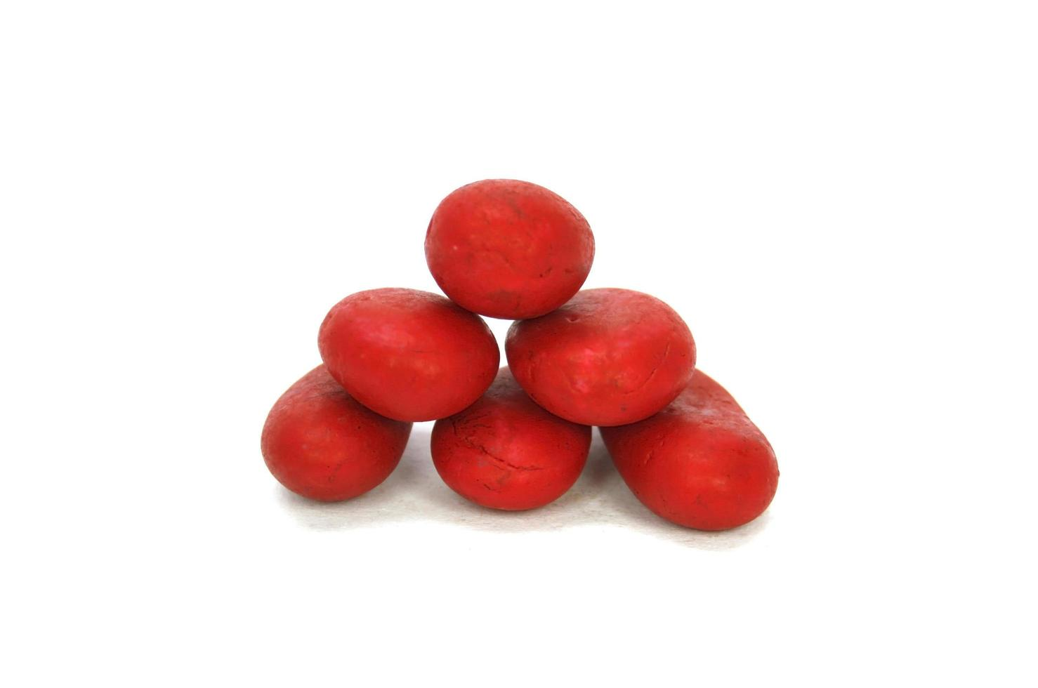 stapel rode stenen foto