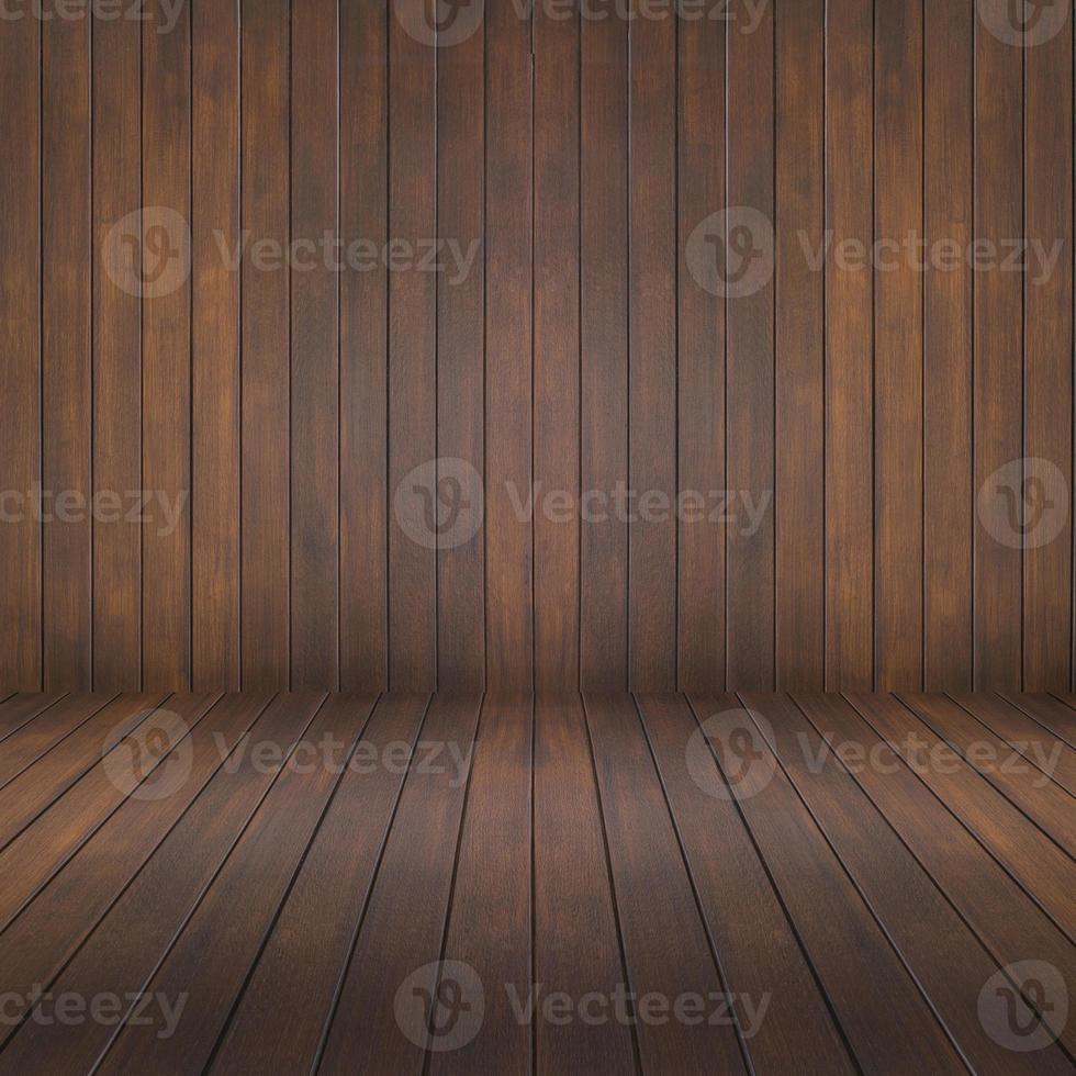 houten kamer en muur achtergrond foto