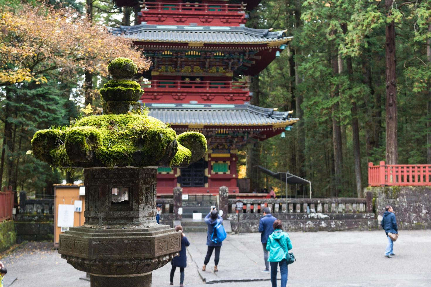 nikko toshogu-tempel in Tokio, 2016 foto