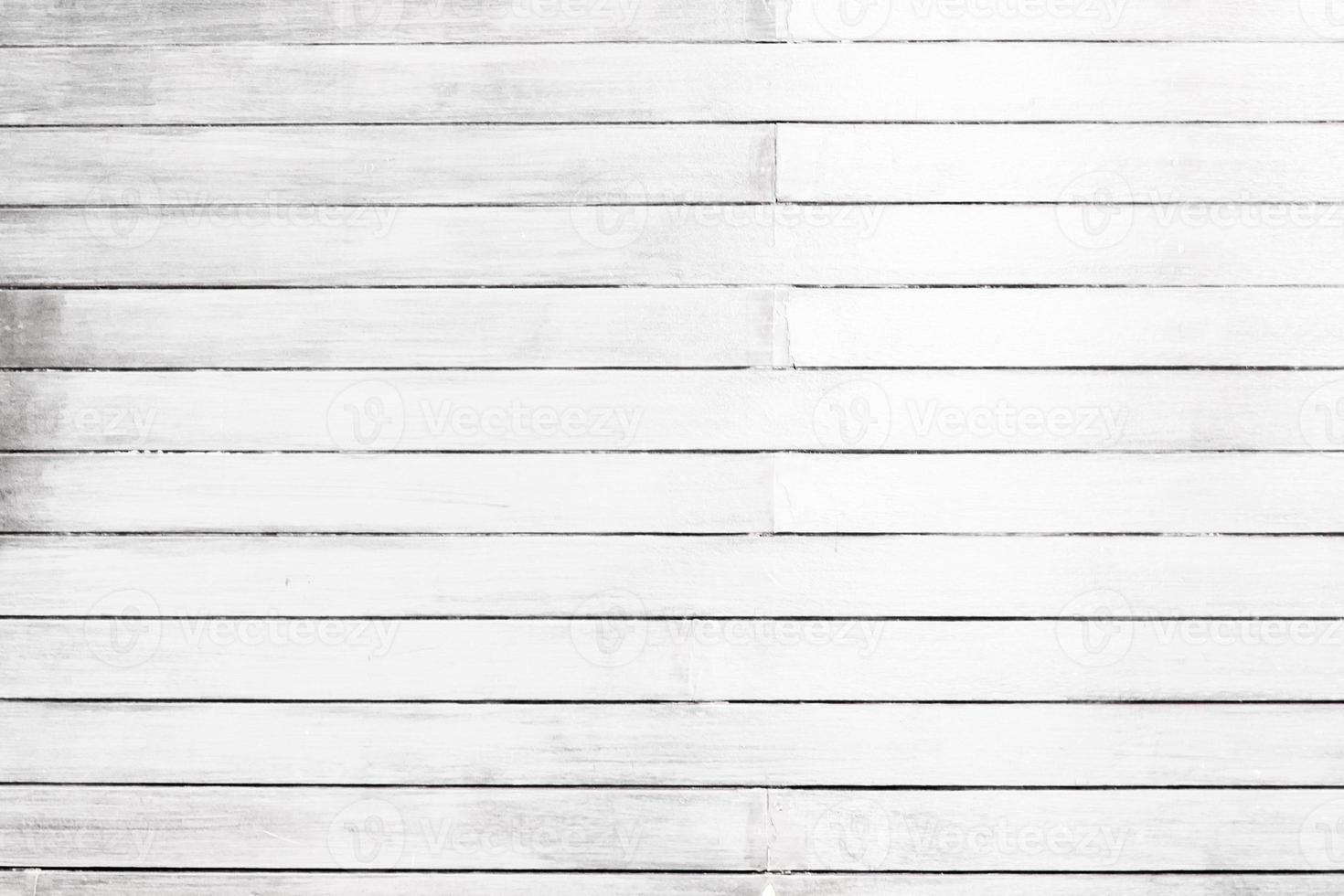 witte houtstructuur muur en vloer achtergrond foto