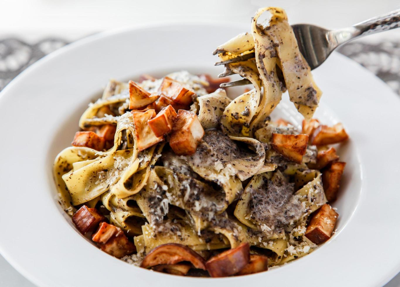 Italiaanse pasta keuken foto