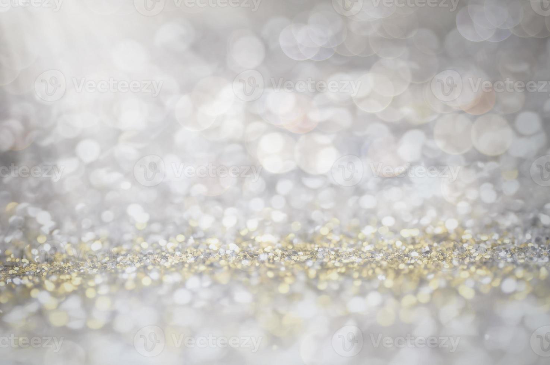 onscherpte van glitter foto