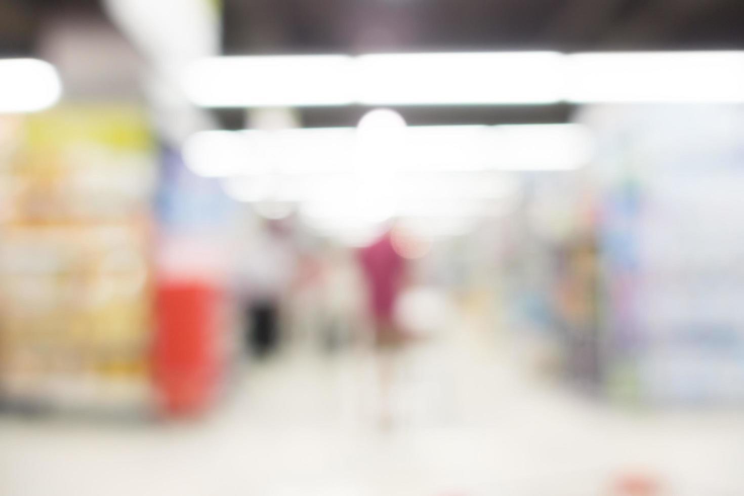 abstract winkelcentrum achtergrond wazig foto