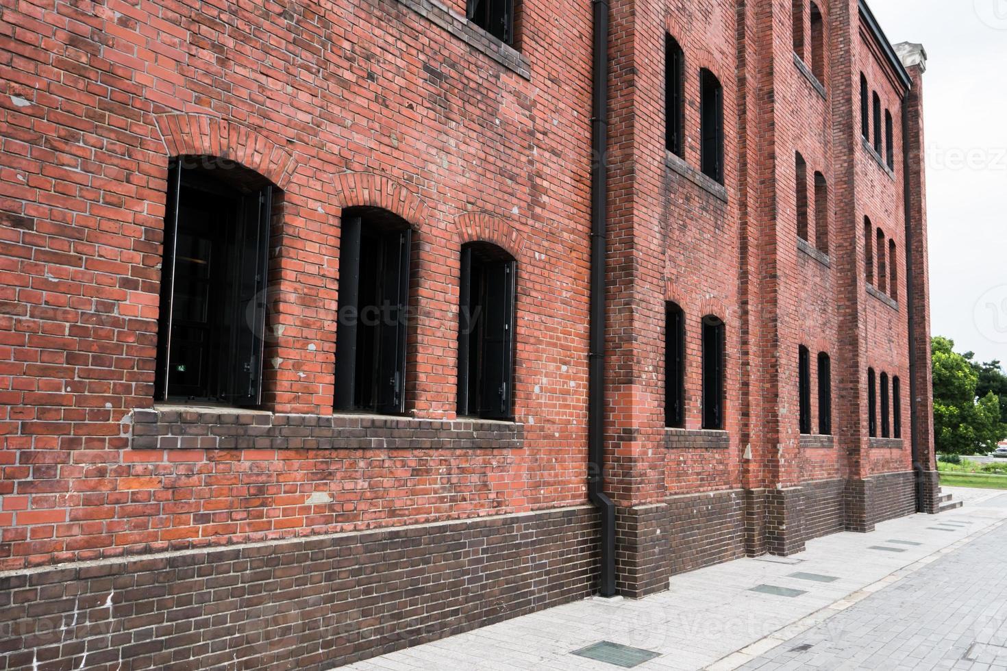 rustiek bakstenen gebouw foto