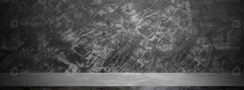 zwarte grunge muur banner foto