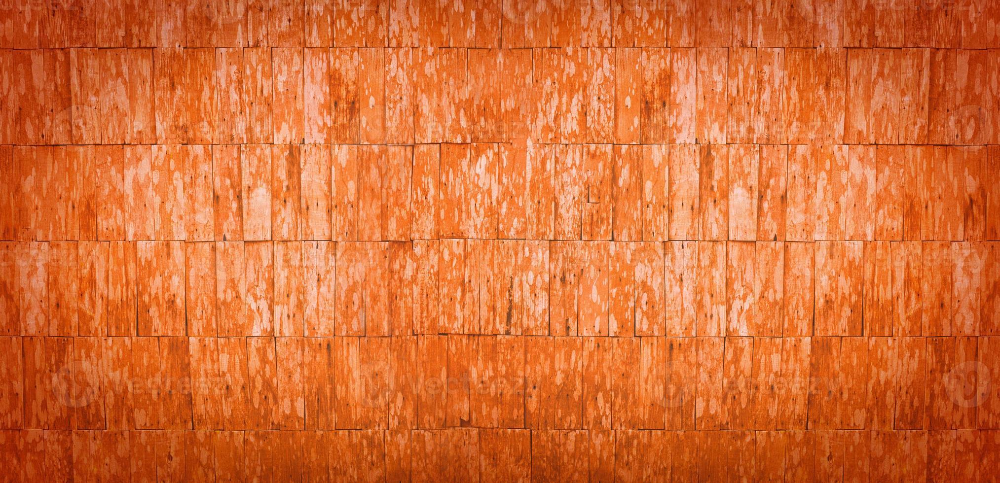 oranje banner als achtergrond foto