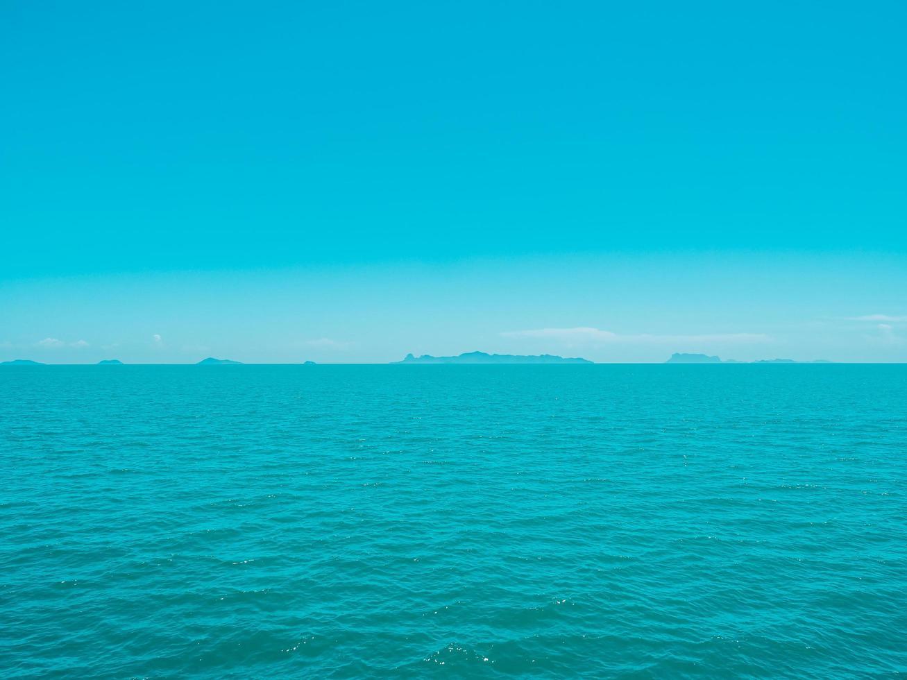 prachtige tropische zee foto