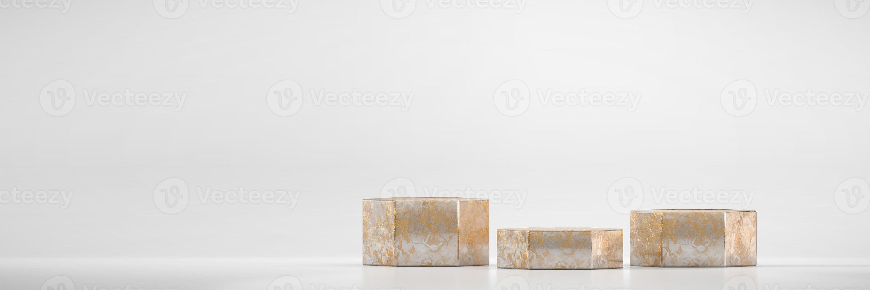 podium podium platform mockup voor productvertoning foto