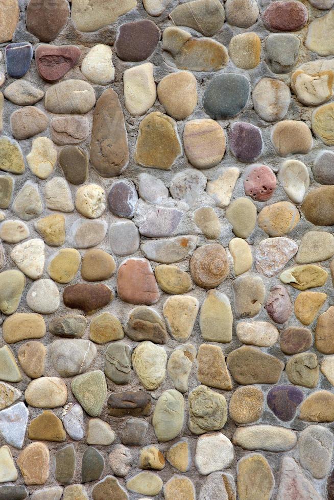 detail van de oude bakstenen muur foto