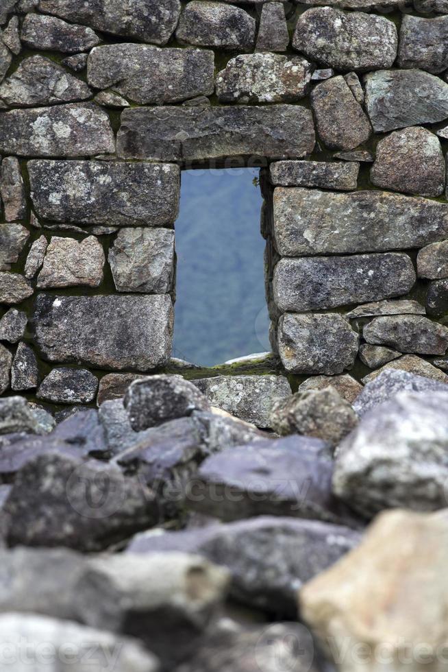 oude stenen muur foto