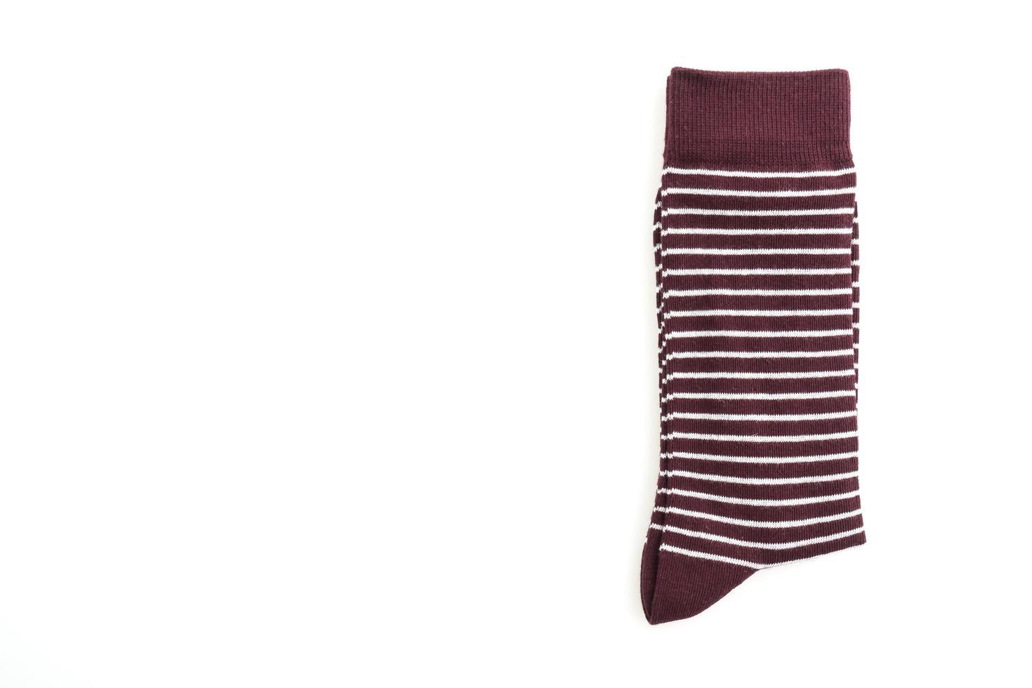 een paar sokken op witte achtergrond foto