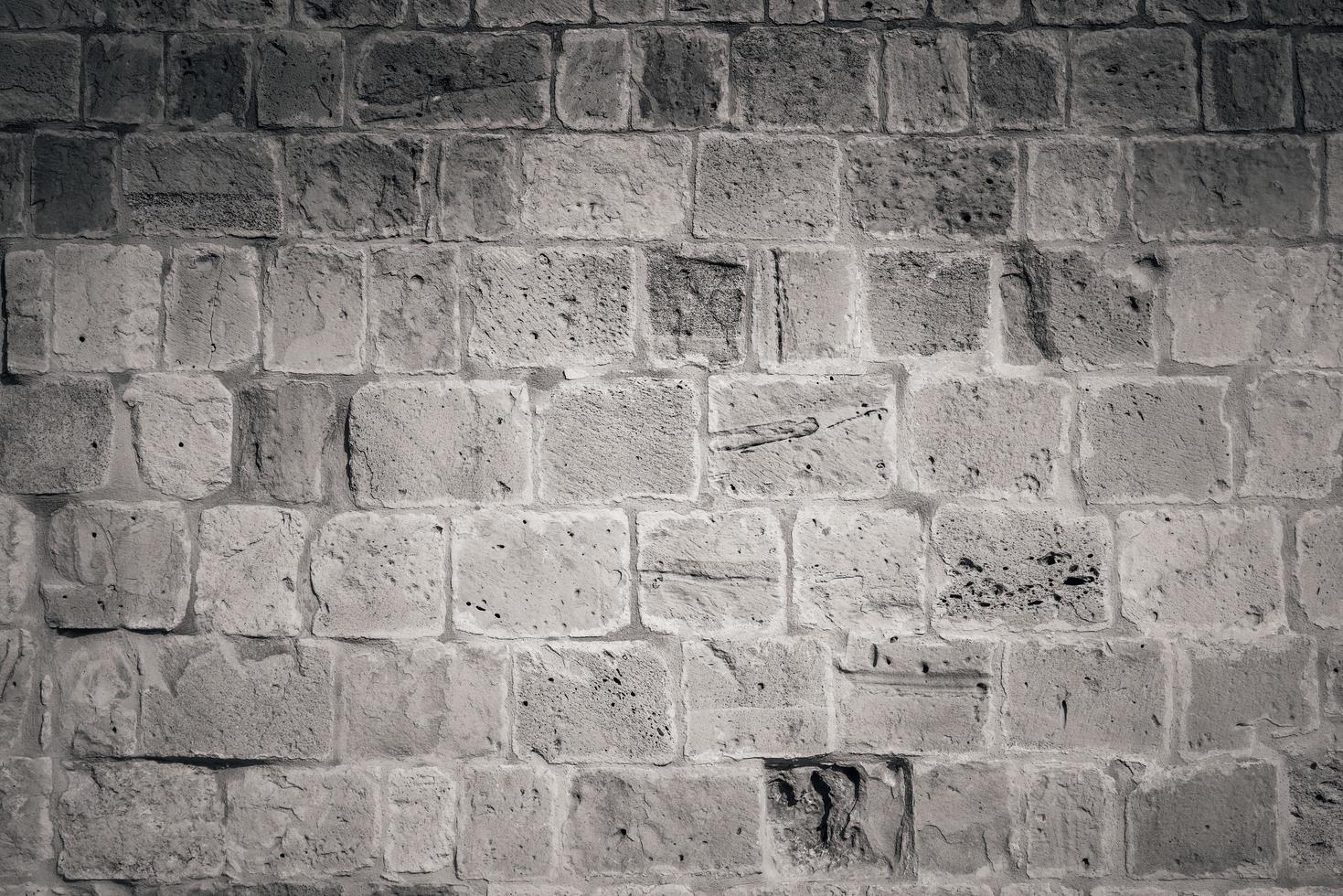 lege bakstenen muur achtergrond foto