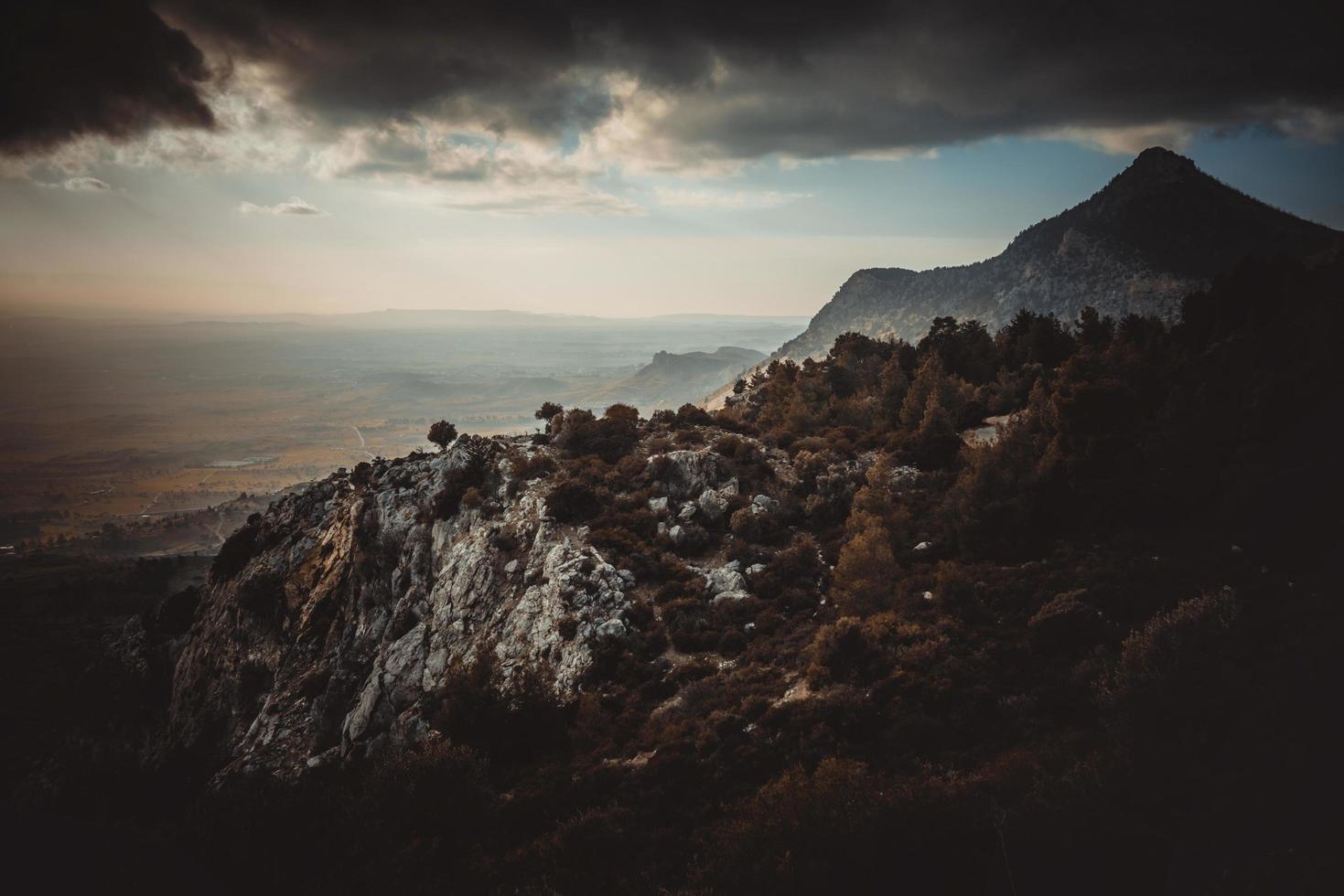 herfst op een bergtop foto