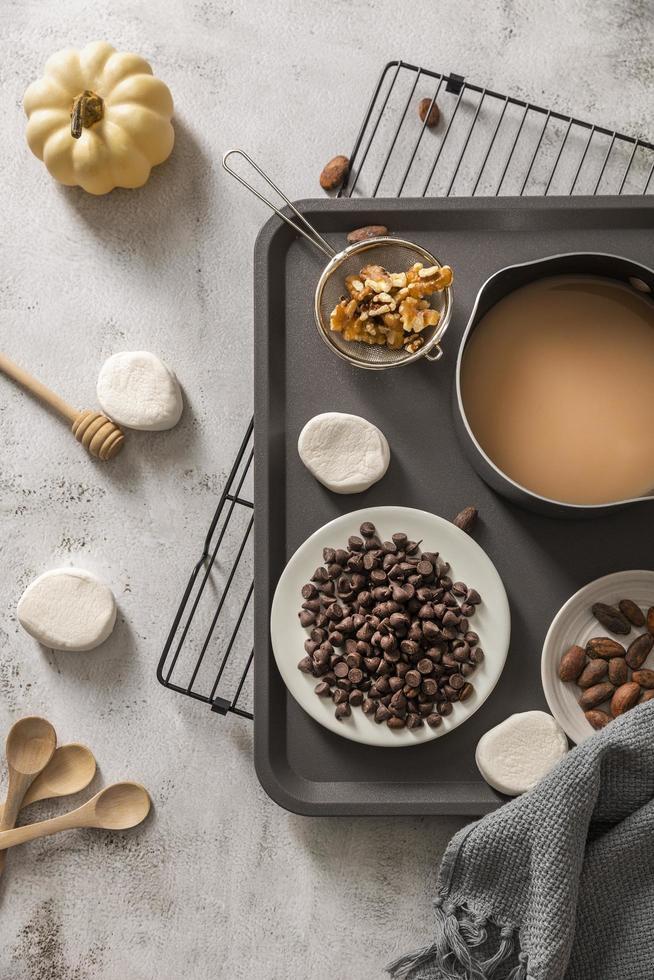 herfst voedsel concept foto