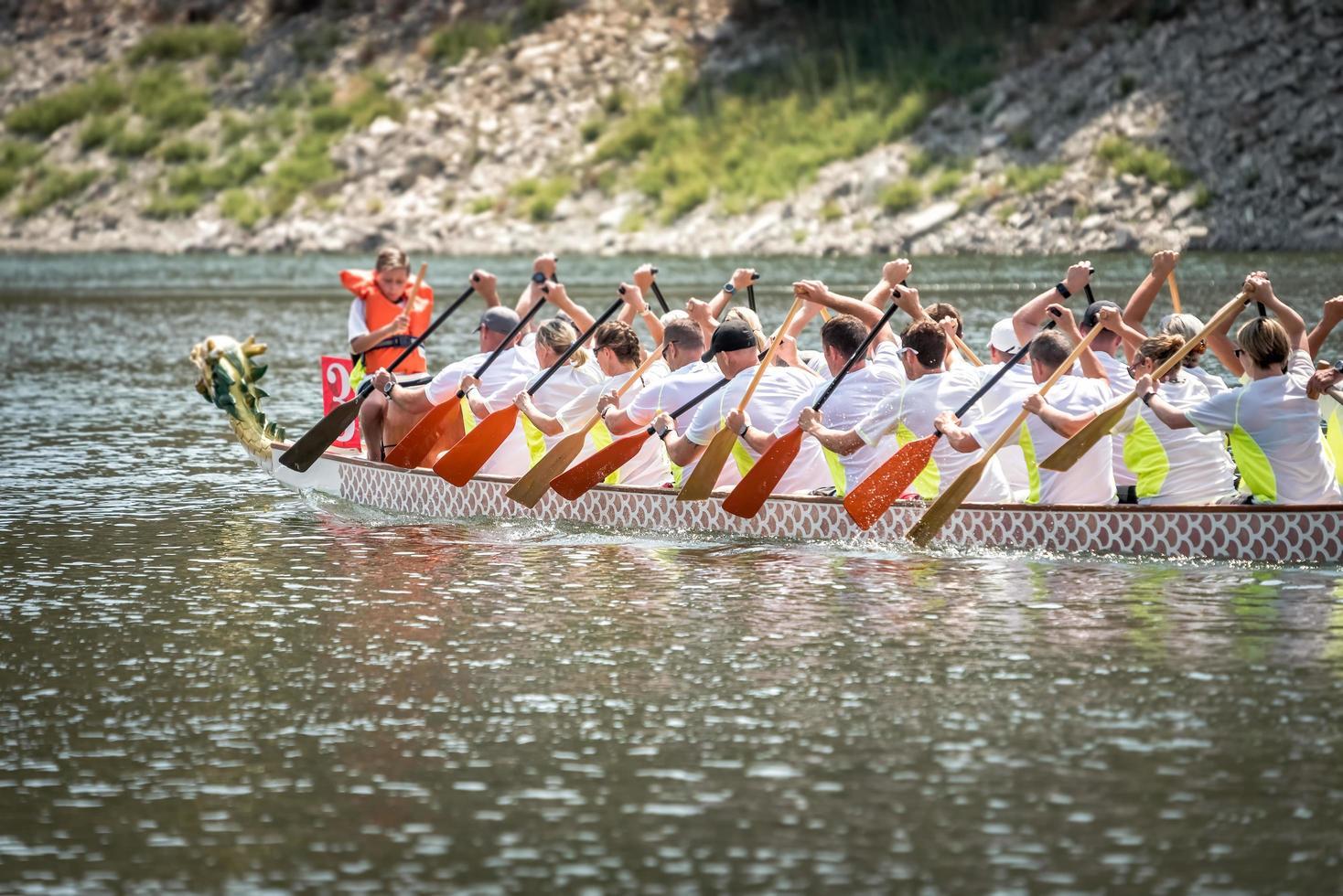 2018 - Chinees Dragon Boat Race-team foto