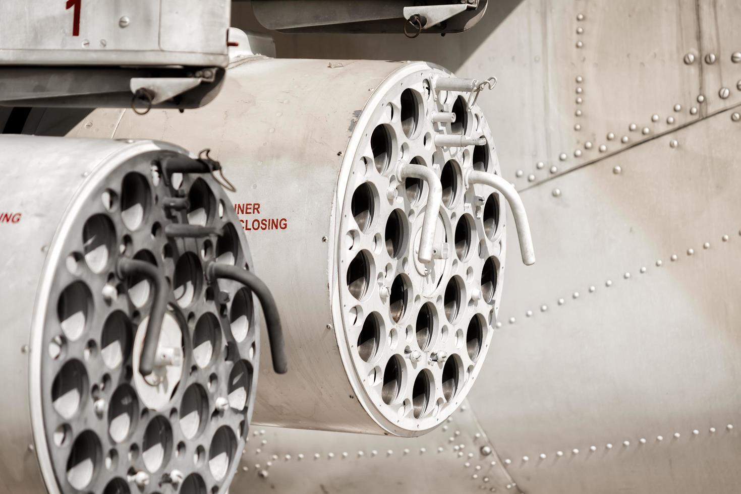 raketkoepel helikopter gunship foto