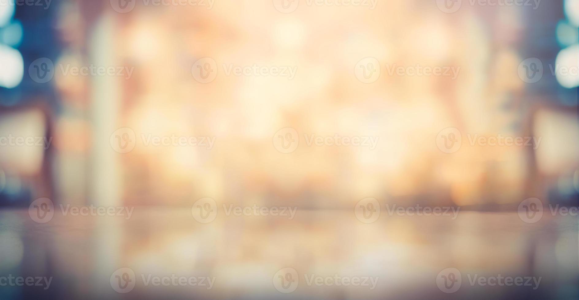 wazig verwarmende bokeh-kleur met een vintage toon foto