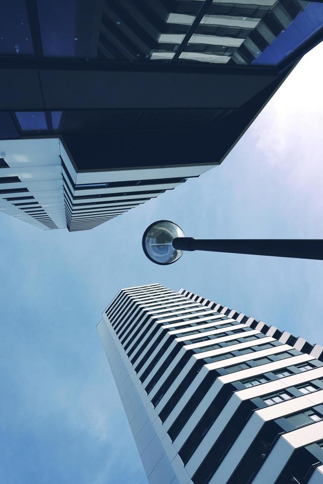 architectuur bouwen in bilbao city, spanje foto