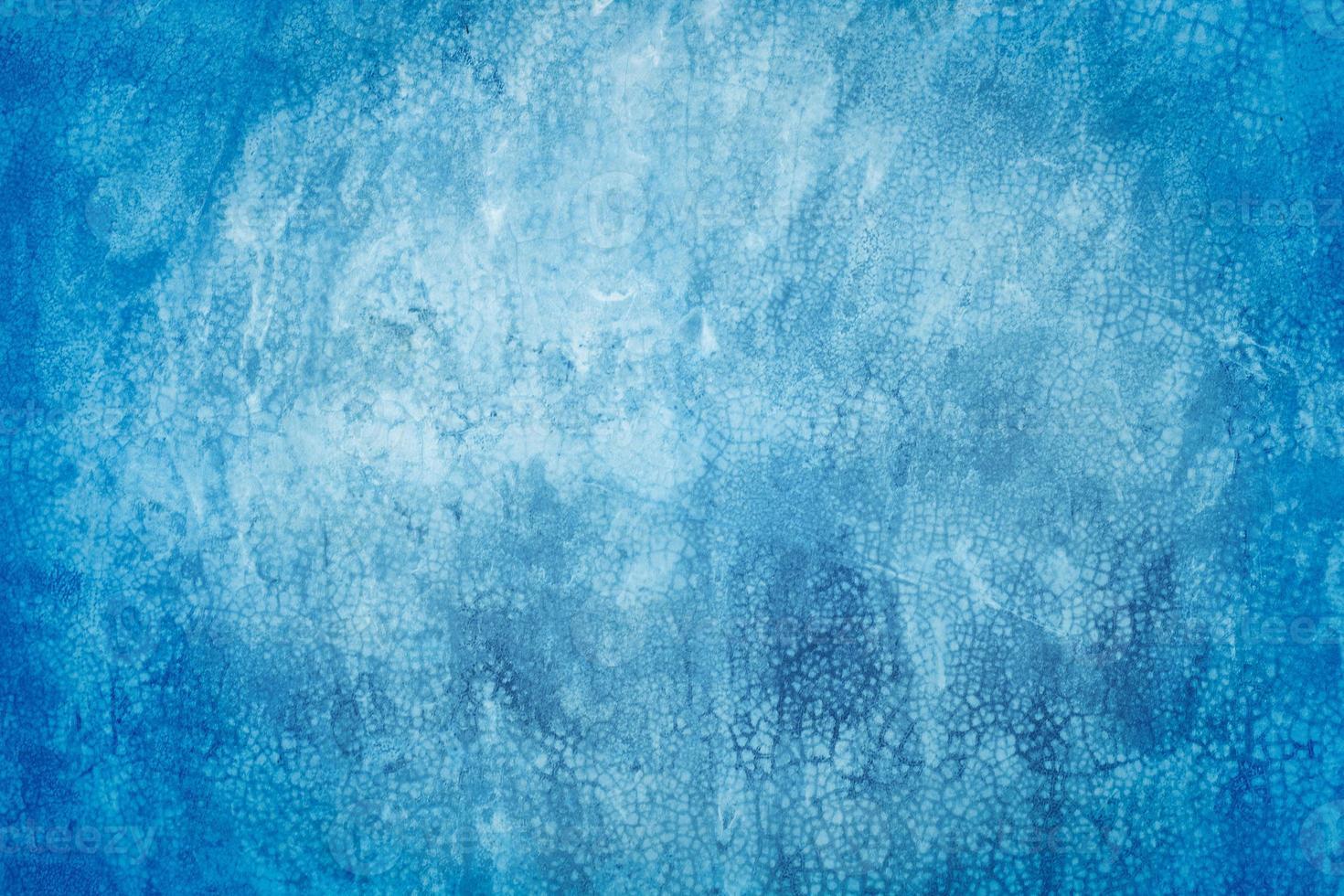 blauw beton of cement muur voor achtergrond of textuur foto