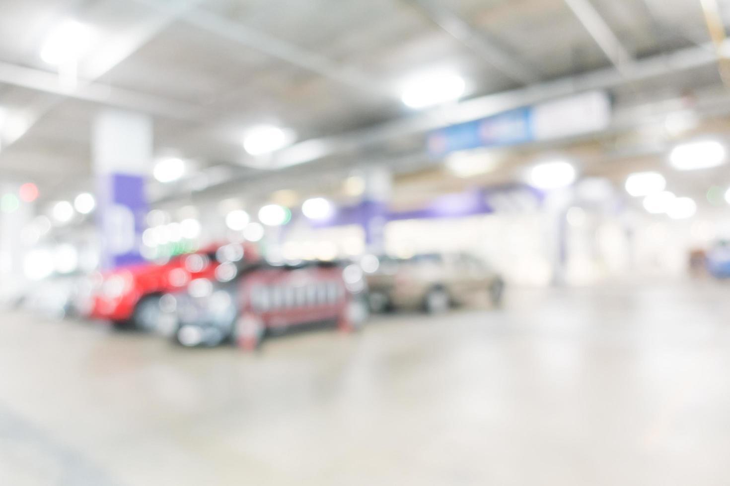 abstracte intreepupil garage achtergrond foto