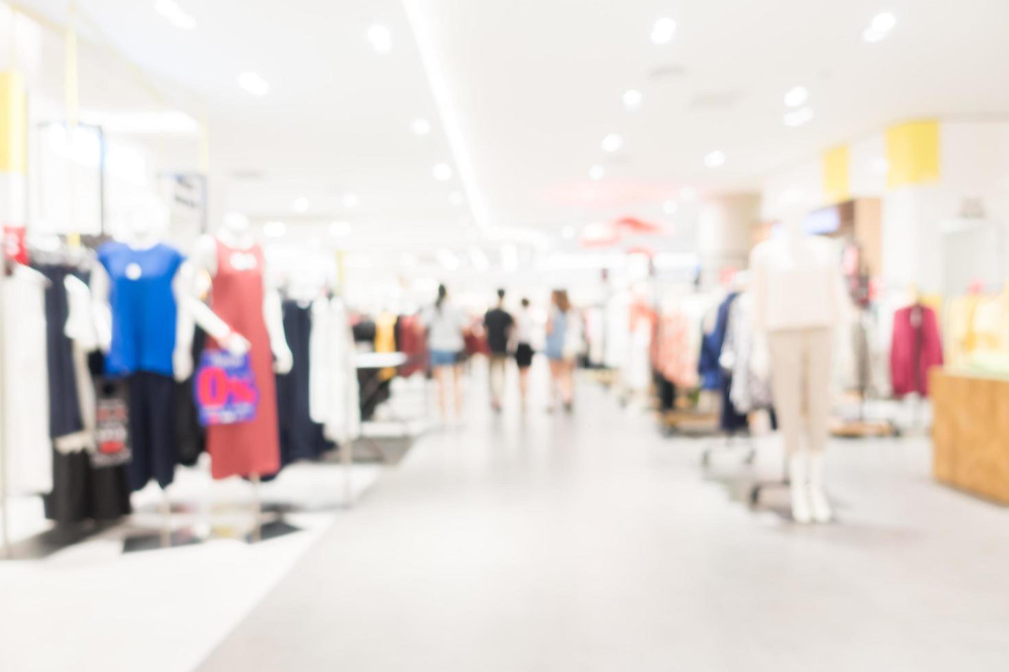 abstracte intreepupil winkelcentrum achtergrond foto