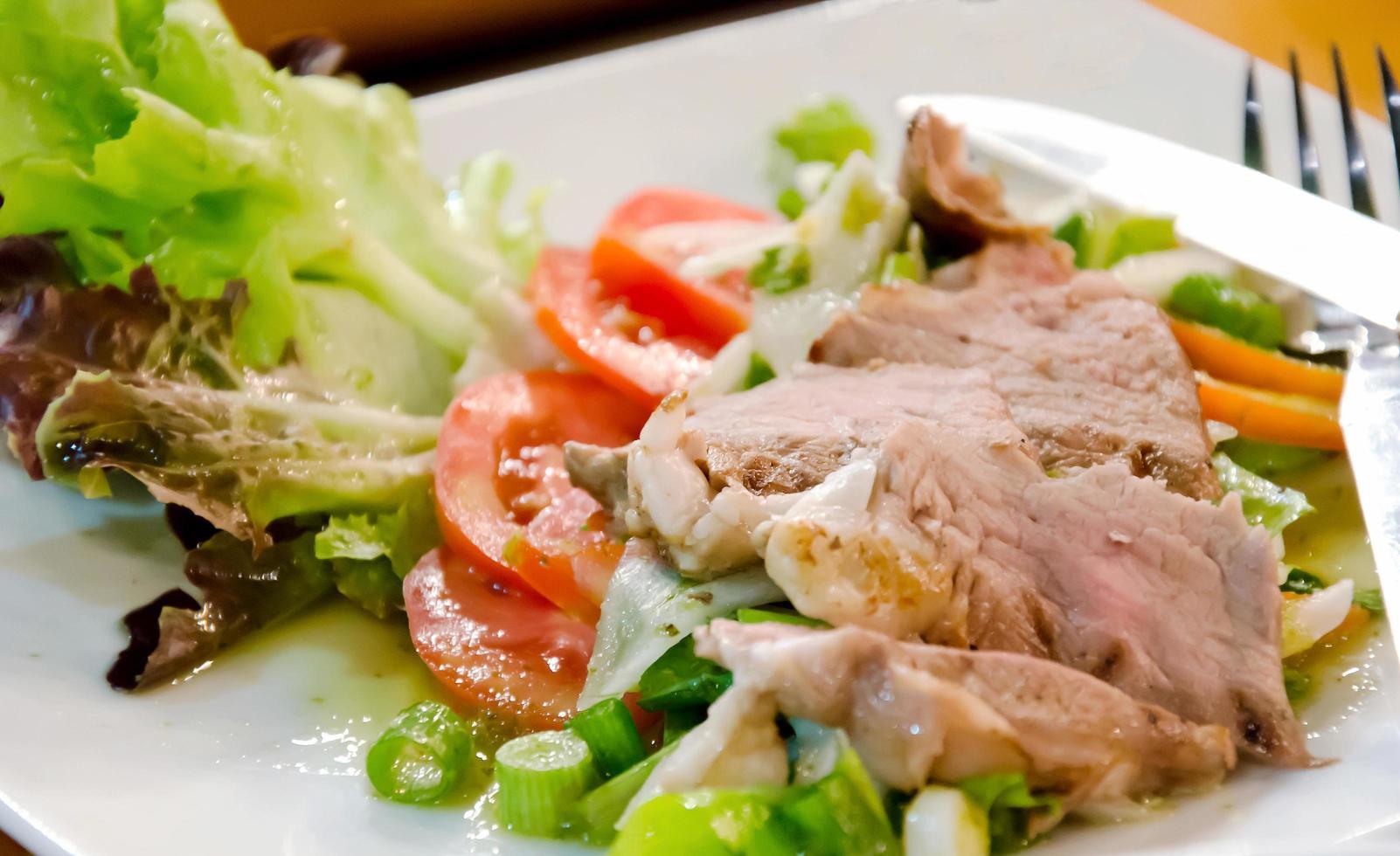 biefstuk maaltijd foto