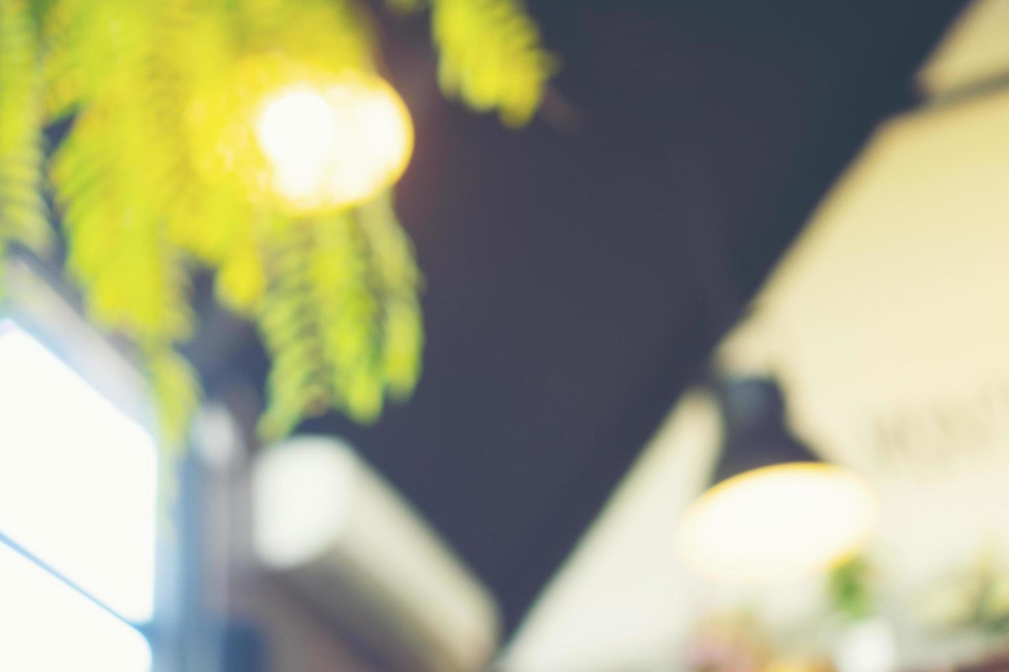 lichten en plant achtergrond foto