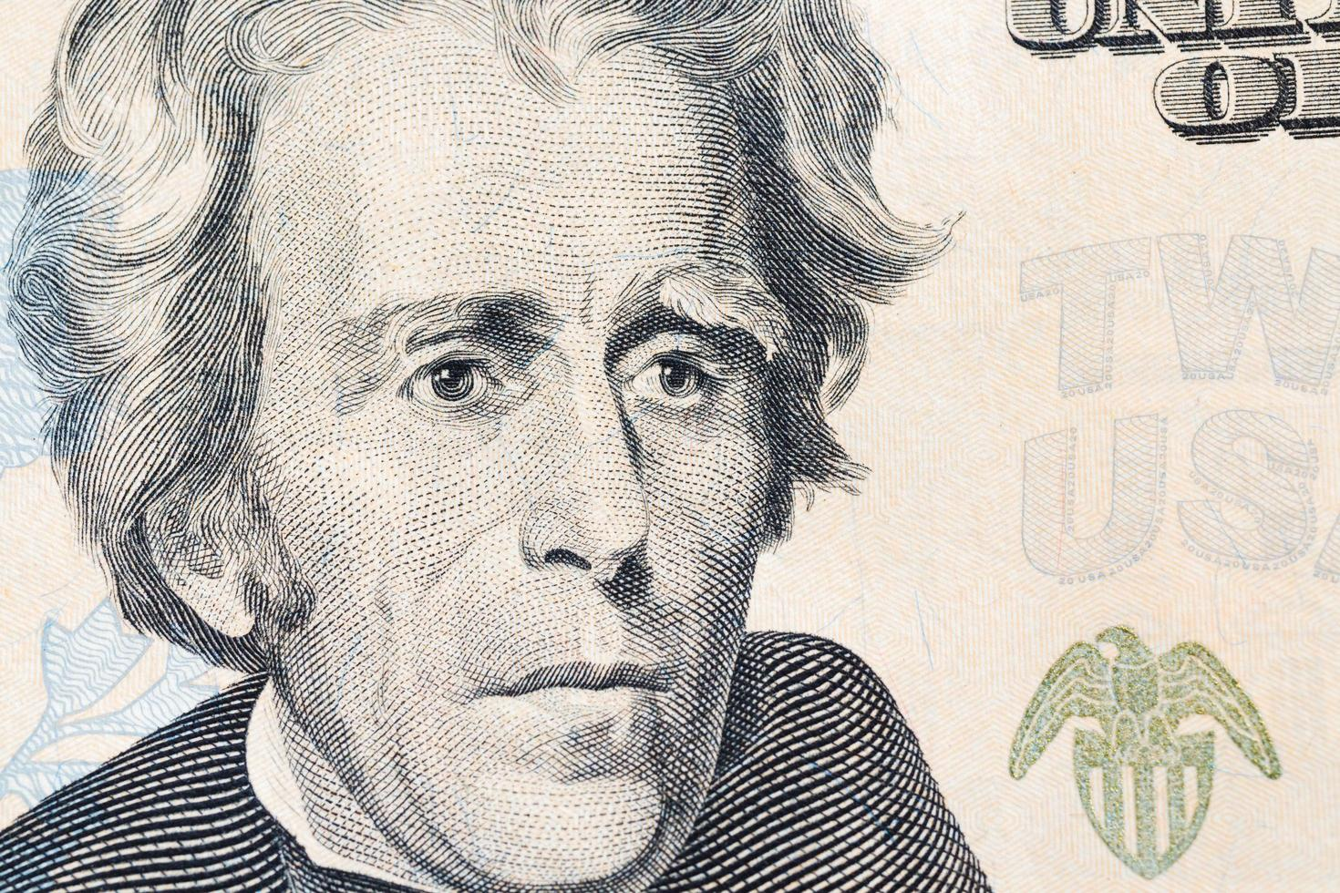 Amerikaanse dollarsbankbiljetten, commercieel en bancair concept foto