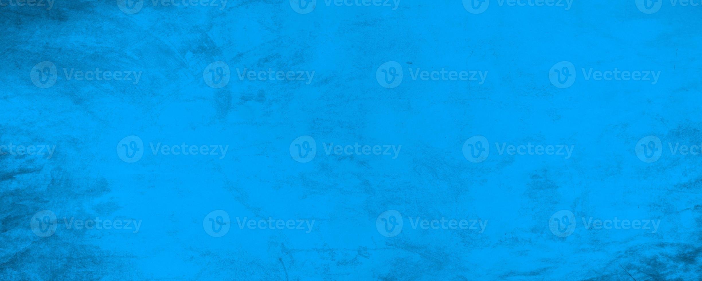 horizontale donkerblauwe textuur cement muur achtergrond foto